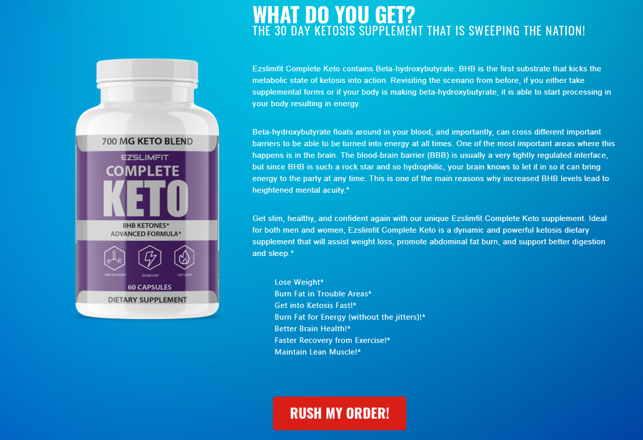 EZ Slim Fit Keto: What Should You Know About This Supplement?
